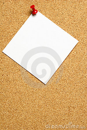 Blank Message Note