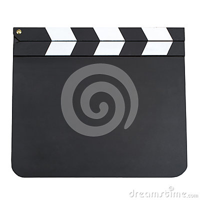 Free Blank Movie Board Stock Images - 36165974