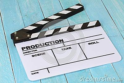 blank film slate - photo #14