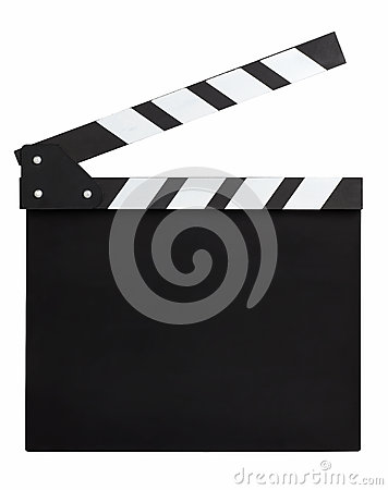 Free Blank Movie Clapperboard Royalty Free Stock Images - 30615909