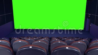 Cinema Movie Theatre With A Green Screen 4k Stock Video Video Of Theater Room 111763085