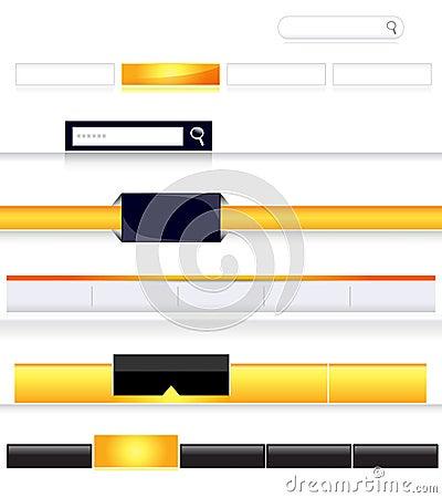 Blank navigation bars