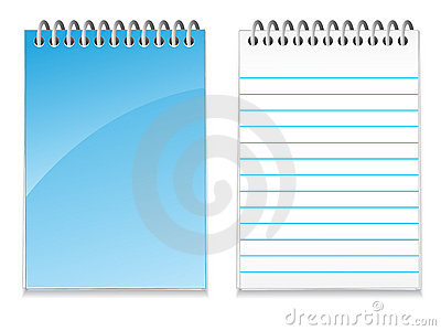 Blank Note Pad EPS