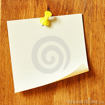 Free Blank Note Paper Royalty Free Stock Images - 5923479