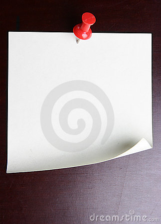 Free Blank Note Paper Royalty Free Stock Photos - 6067218