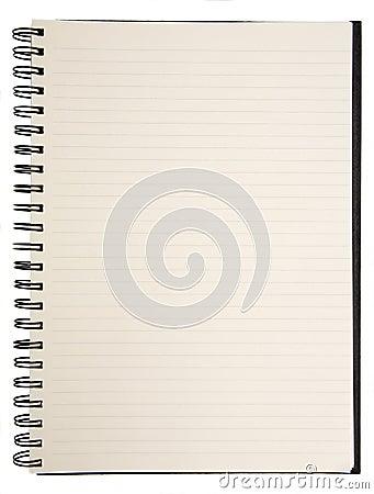 Free Blank Notebook Stock Photo - 1073240