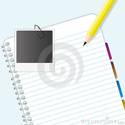 Blank Notebook Stock Images - Image: 22579934