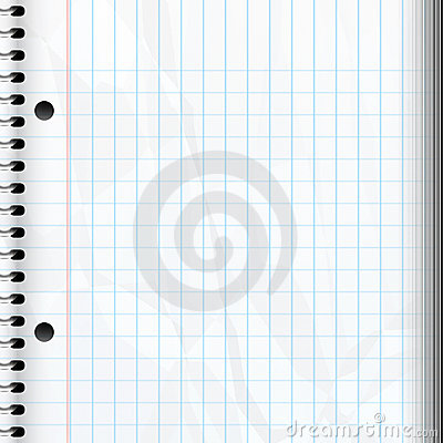 Blank Notebook Page Stock Images - Image: 2562004