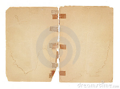 Blank, Old Facing Pages