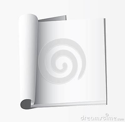 Blank pages inside of journal
