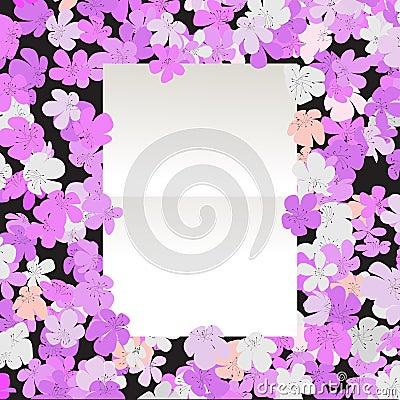 Message floral