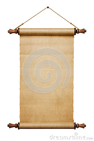Free Blank Paper Scroll Royalty Free Stock Image - 44621506