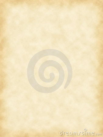 Blank parchment paper