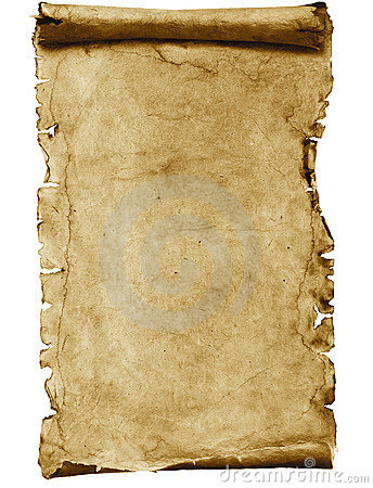 Free Blank Parchment Scroll Stock Photo - 11709430