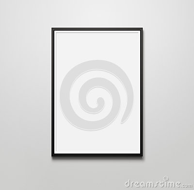 Free Blank Picture Frame Royalty Free Stock Photography - 45079817