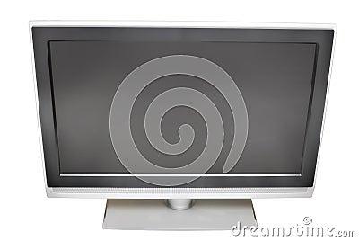 Blank plasma TV | Isolated