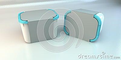 Blank Plastic Boxes