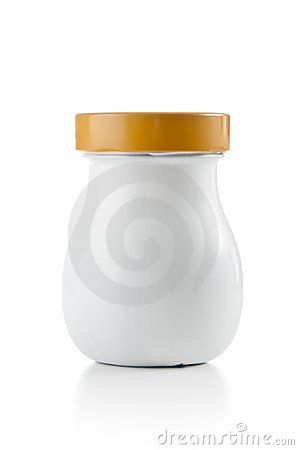 Blank Plastic Jar