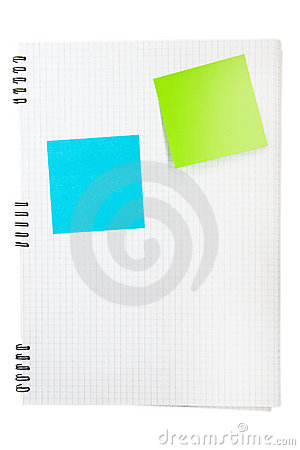 Free Blank Post-its Stock Photography - 11754832