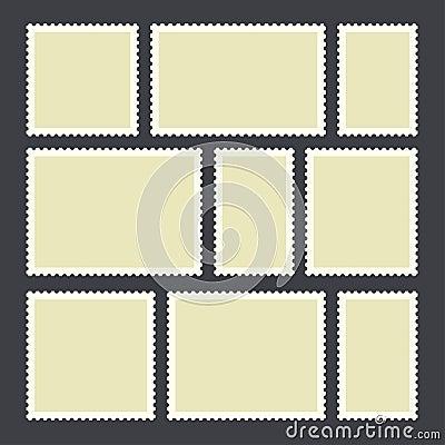 Free Blank Postage Stamp Stock Photo - 104777960