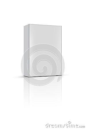 Blank product box