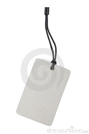 Free Blank Product Label Tag Royalty Free Stock Photos - 10972218