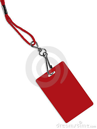 Free Blank Red Badge With Copy Space (+ Clipping Path) Stock Images - 2093864