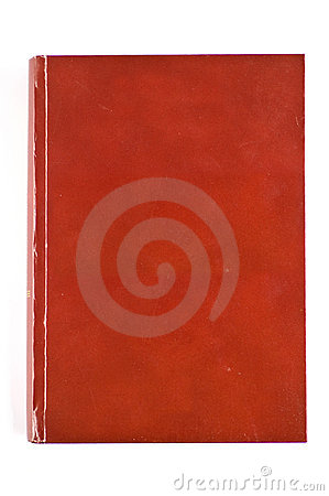 Free Blank Red Cover Book Royalty Free Stock Photography - 13923117