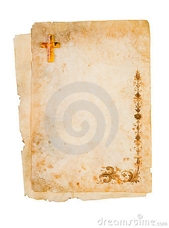Free Blank Religous Paper Royalty Free Stock Images - 4411859