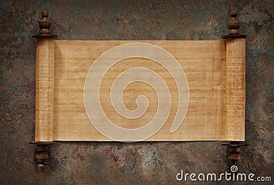 Blank Scrolls Open