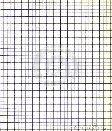 Blank sheet of paper