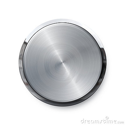 Blank shiny push button
