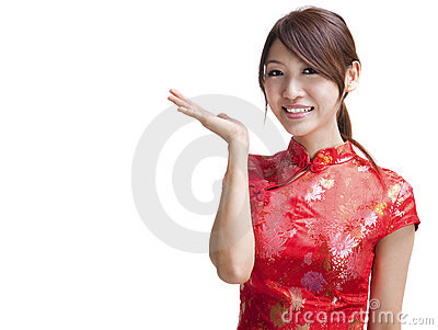 Blank sign - Oriental beauty