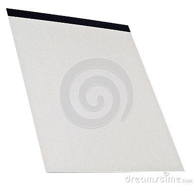 Blank Sketch Pad Ready for Creativity