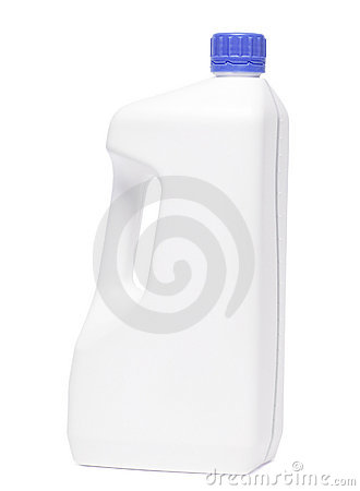 Blank soap bottle