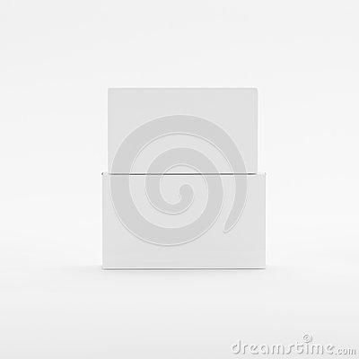 Free Blank Soap & Box Packaging Mock-Up Template On Isolated White Background Stock Photos - 92939373