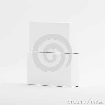 Free Blank Soap & Box Packaging Mock-Up Template On Isolated White Background Royalty Free Stock Photography - 92939497