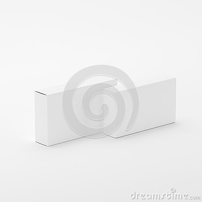 Free Blank Soap & Box Packaging Mock-Up Template On White Background, Ready For Your Design And Presentation, 3D Illustration Stock Photography - 92939622