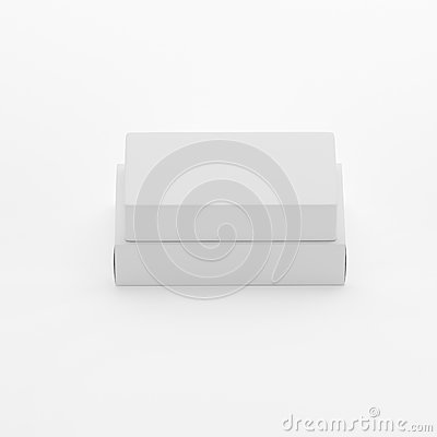 Free Blank Soap & Box Packaging Mock-Up Template On White Background, Ready For Your Design And Presentation, 3D Illustration Royalty Free Stock Photography - 92940037