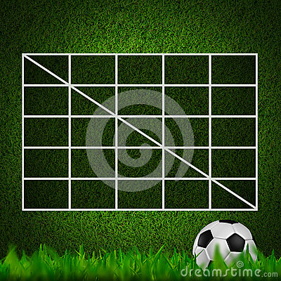 Blank Soccer ( 4x4 ) Table score