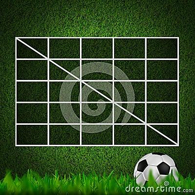 Blank Soccer ( 4x4 ) Table score