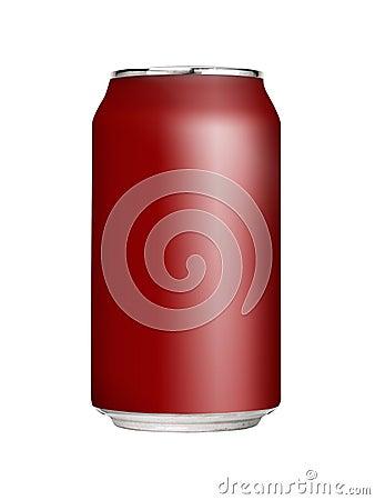 Free Blank Soda Can Royalty Free Stock Photo - 5653465