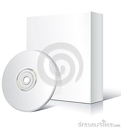 Free Blank Software Box Royalty Free Stock Photo - 9951565
