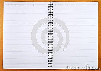 Blank Spiral Note
