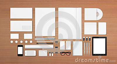 Blank Stationery / Corporate ID Template