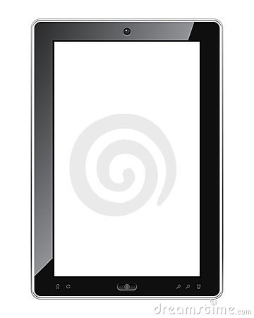 Blank tablet pc