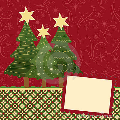 Blank Template For Christmas Greetings Card Royalty Free – Blank Christmas Templates