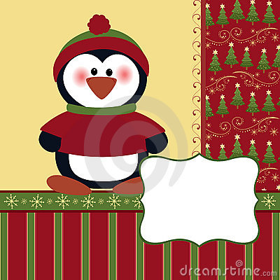 Free Blank Template For Christmas Greetings Card Stock Image - 17014321