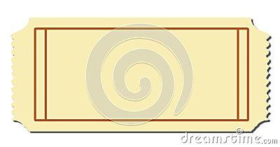 Blank Ticket Photo Image 5309690 – Blank Ticket