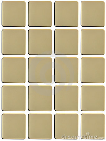 Blank Tiles Stock Photo Image 2851170